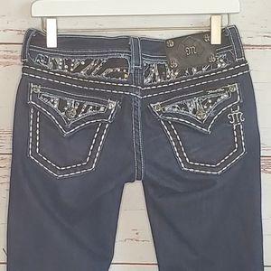 Skinny Jean Miss Me JE5639SL Dark Wash 26
